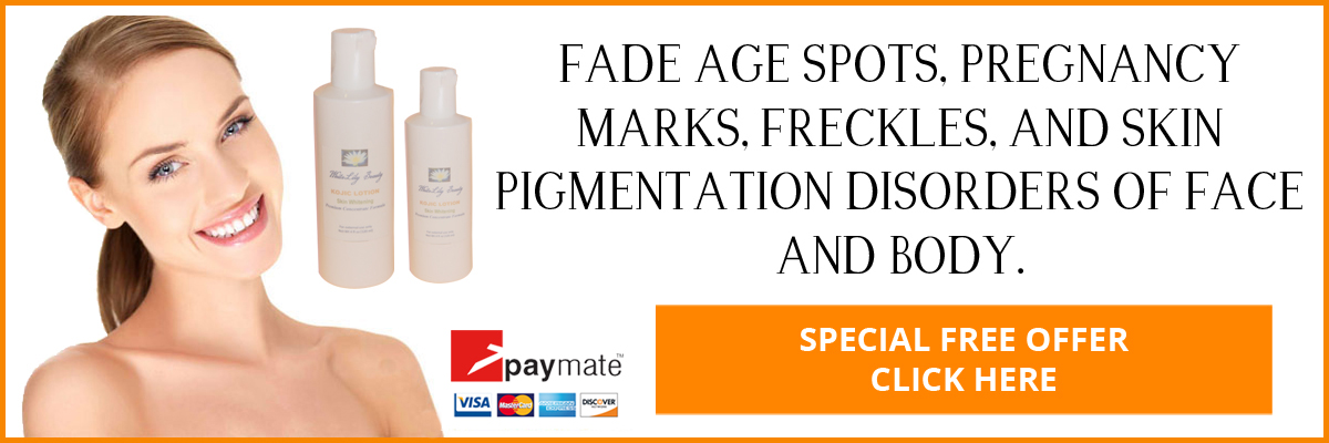 Fade Age Spots, Pregnancy Marks, Freckles, and Skin Pigmentation Disorders of Face and Body.